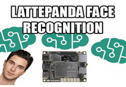 How to Make a Face Recognition Application with Lattepanda?