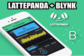 How to use LattePanda and Blynk to make a simple IoT Control Unit?