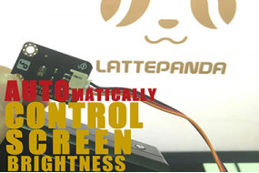 LattePanda Tutorial: Control the Screen Brightness Automatically