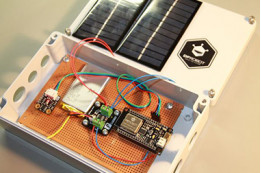 ESP32 Solar Weather Station