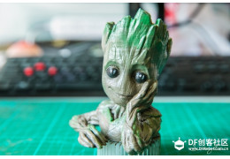 How to 3D Print a Colored Baby Groot