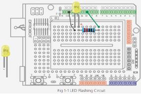 Arduino Project 1: LED Flashing