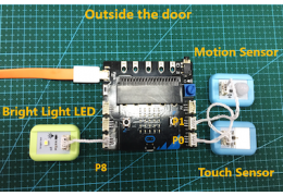 Mobile Doorbell System with BOSON and Micro:bit