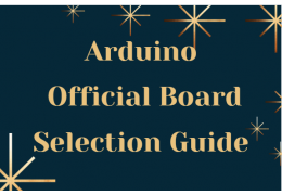 Arduino Official Board Selection Guide