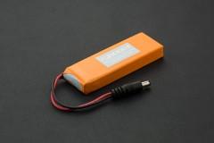 7.4V Lipo 2200mAh Battery (Arduino Power Jack)