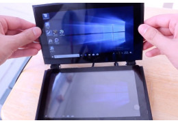 DIY Dual Touchscreen Windows 10 Computer! The LattePanda Alpha MagClick Case and Tutorial
