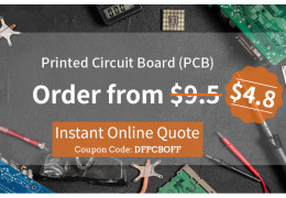 PCB Order from $4.8! All PCB orders off $4.7