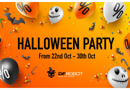 DFRobot Halloween Party!