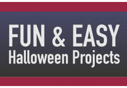 Fun & Easy Halloween Projects