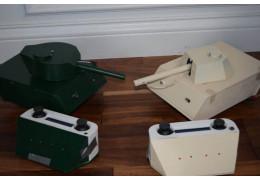 Tank Laser Tag Sherman & Panther