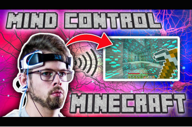 I Used My Brain Waves to Play Minecraft>