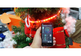 Smart Xmas Tree with RGB LED Strip is featured on Instructables!