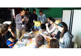 Habib kickstarted BB maker tour in Ouishare Fest, France