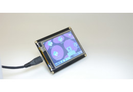 """January Free Trial – 2.8"""" USB TFT Touch Display for Raspberry Pi!"""