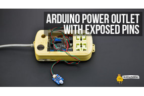 Arduino Power Outlet with Exposed Pins