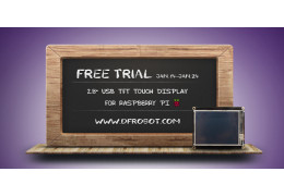 """January Free Trial Results (2.8"""" USB TFT Touch Display for Raspberry Pi?"""