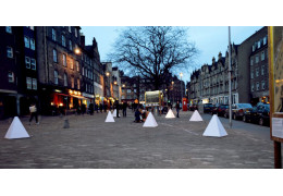 An interactive installation showing the exciting diversity of a city