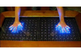Arduino-controlled Reactive LED Coffee Table