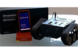Windows + DFRobot Kit: Bring the DF Robot Devastator to life with Windows!