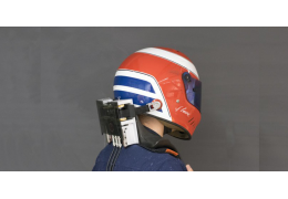Robot Head Restraint to Save Racers' Necks