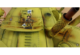3D Printed Giant Miniature Walking Robot Tank