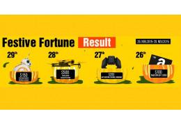 Festive Fortune Result