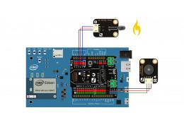 Intel® Edison Hands-on Day 2: FlameFire alarm