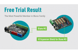 Free Trial Results (Bluno M3+Expansion Shield)