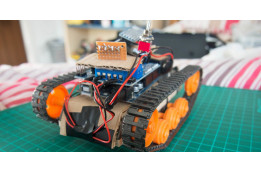 How To Make Arduino Bluetooth Tank with Custom Android Application (V1.0)