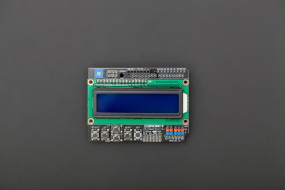 Gravity: 1602 LCD Keypad Shield For Arduino