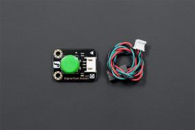 Gravity: Digital Push Button (Green)