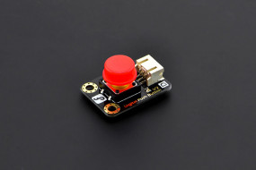 Gravity: Digital Push Button (Red)-DFRobot