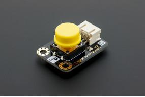 Gravity:Digital Push Button (Yellow)