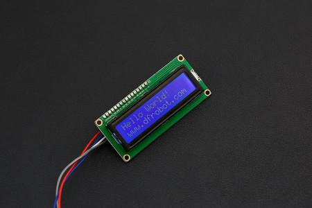 I2C 16x2 Arduino LCD Display Module
