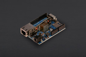 Arduino Ethernet with PoE module