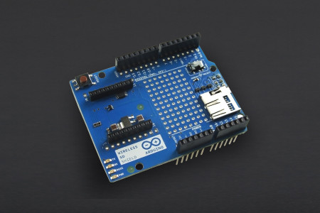 arduino wireless sd shield dfrobot arduino wireless sd shield