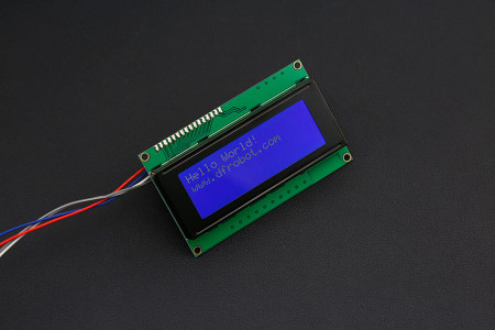 I2C 20x4 Arduino LCD Display Module