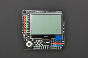 Gravity: LCD12864 Shield for Arduino