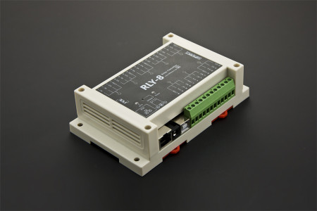 8 Channel Ethernet Relay Controller Support PoE and USB DFRobot