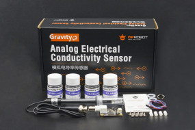 Gravity: Analog Electrical Conductivity Sensor / Meter(K=10)