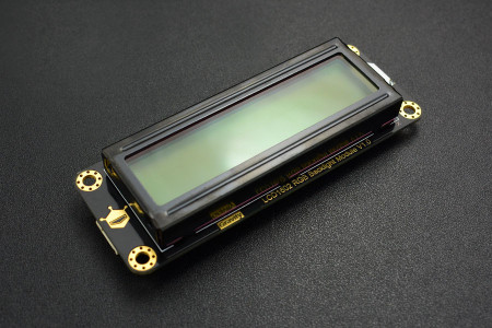 Gravity: I2C 16x2 Arduino LCD with RGB Backlight Display - DFRobot