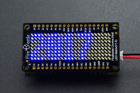 FireBeetle Covers-24×8 LED Matrix (Blue)