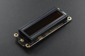 Gravity: I2C 16x2 Arduino LCD with RGB Font Display (Black)