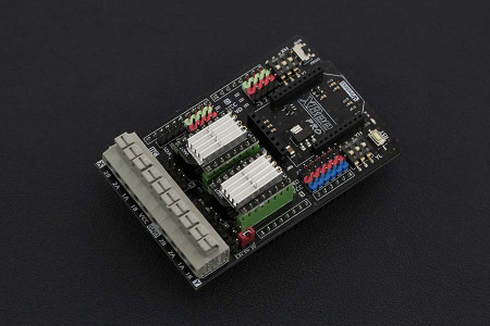 2x2A DC Motor Shield For Arduino - DFRobot
