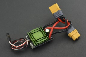 20A Bidirectional Brushed ESC Speed Controller without Brake (XT60 Connector)
