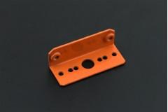 Sharp IR Sensor Mounting Bracket - GP2Y0A21/GP2Y0A02YK (Orange)