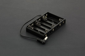 6xAA Battery Holder with DC2.1 Power Jack
