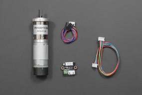 12V Low noise DC Motor 146RPM w/Encoder