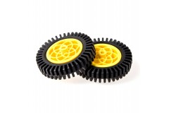 Rubber Wheel (Compatible with Servo & Motor)