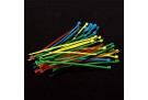 Nylon Cable Tie Set - Five Colors(50pcs)